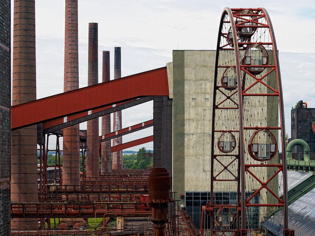 Zeche Zollverein Essen, Kokerei